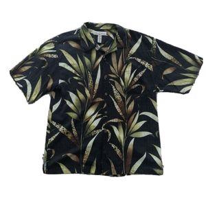 Tommy Bahama Men's Hawaiian 100% Silk  Shirt